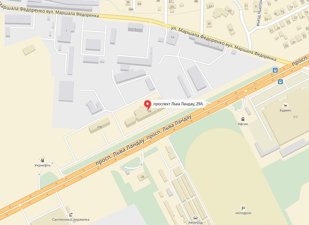 адрес компании Лесник, карта фото 1